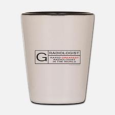 RADIOLOGIST Shot Glass