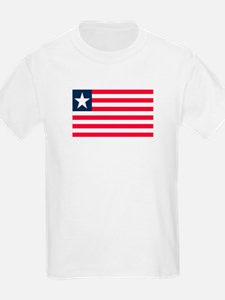 Liberian Flag Kids T-Shirt