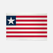 Liberian Flag Rectangle Magnet