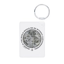 MAP/CARTOGRAPHY Keychains