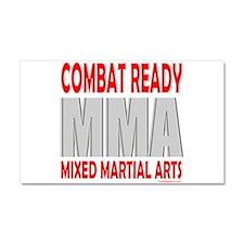 COMBAT READY MMA Car Magnet 20 x 12