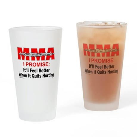 MMA MIXED MARTIAL ARTS Drinking Glass
