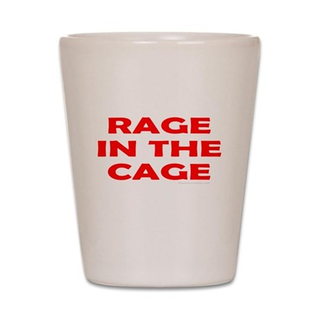 CAGE FIGHTING Shot Glass