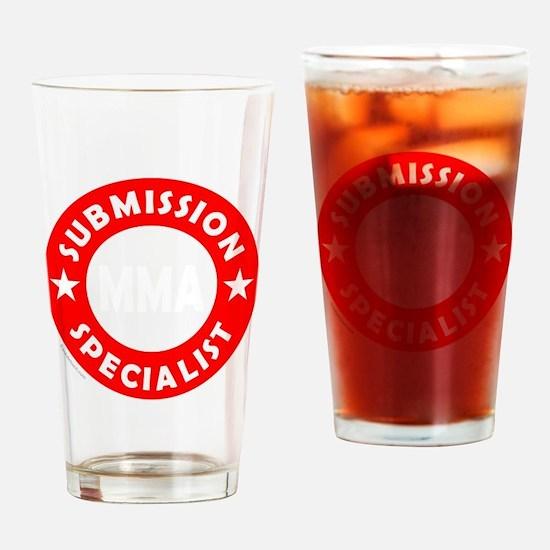 Cute Jiu jitsu Drinking Glass