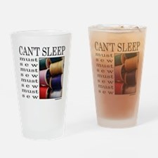 SEW/SEWING Drinking Glass