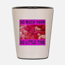 YARN/KNITTING Shot Glass