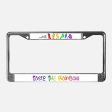 Rainbow Girls License Plate Frame