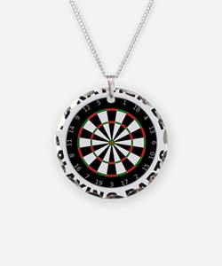 DARTBOARD/DARTS Necklace