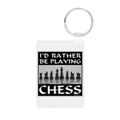 CHESS PLAYER Keychains