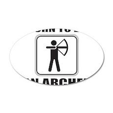 ARCHER/ARCHERY 22x14 Oval Wall Peel