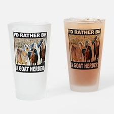 GOAT HERDER Drinking Glass