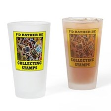 STAMP COLLECTOR Drinking Glass