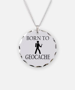 BORN TO GEOCACHE Necklace
