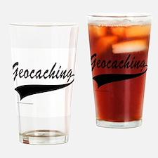 GEOCACHING Drinking Glass
