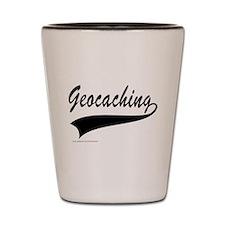 GEOCACHING Shot Glass
