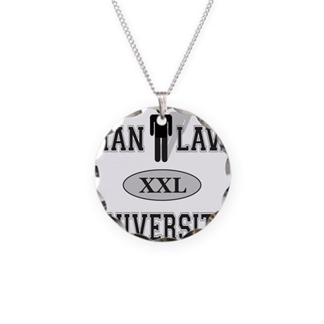 MAN LAW Necklace Circle Charm
