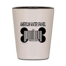 Cute American water spaniel Shot Glass