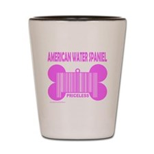 Unique American water spaniel Shot Glass