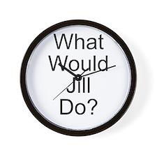 Jill Wall Clock