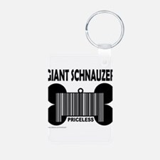 Cute Giant schnauzer Keychains