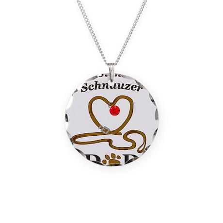 GIANT SCHNAUZER Necklace Circle Charm