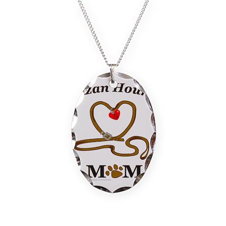 IBIZAN HOUND Necklace Oval Charm
