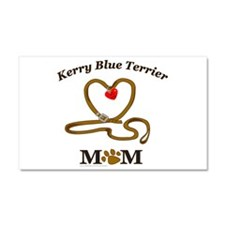KERRY BLUE TERRIER Car Magnet 20 x 12