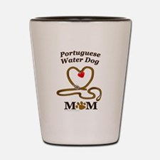 PORTUGUESE WATER DOG Shot Glass