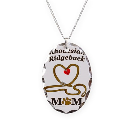 RHODESIAN RIDGEBACK Necklace Oval Charm