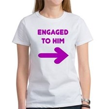 Engaged Arrow Tee