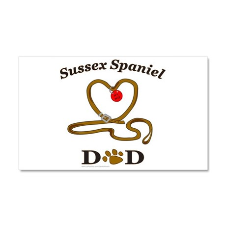 SUSSEX SPANIEL Car Magnet 20 x 12