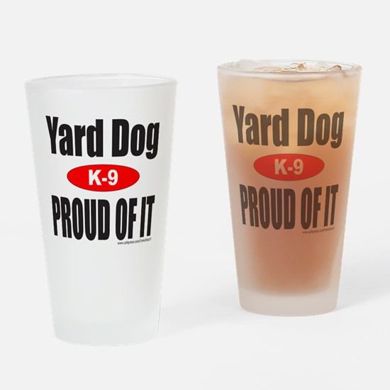 YARD DOG Drinking Glass
