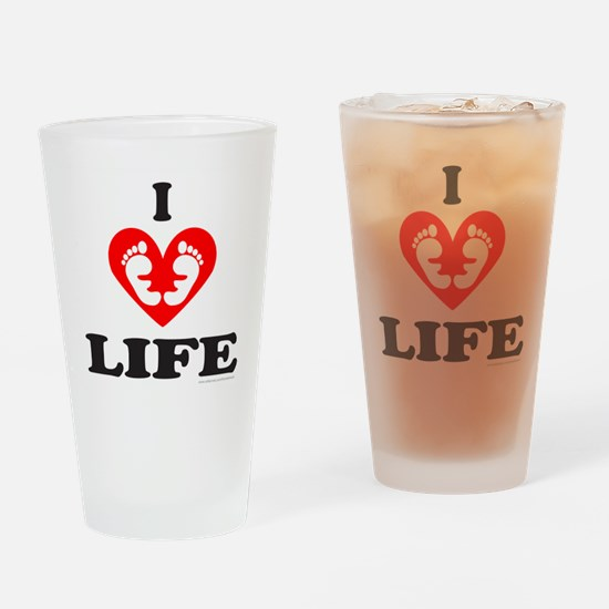 PRO-LIFE/RIGHT TO LIFE Drinking Glass