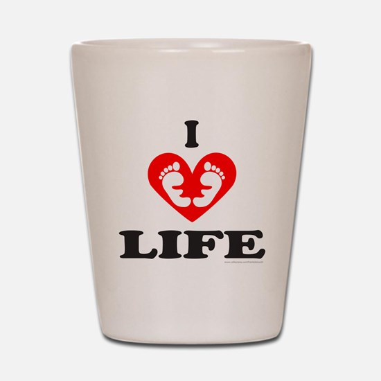 PRO-LIFE/RIGHT TO LIFE Shot Glass