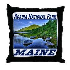 Acadia National Park, Maine Throw Pillow