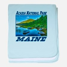 Acadia National Park, Maine baby blanket
