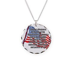 PLEDGE OF ALLEGIANCE Necklace