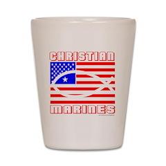 MARINES Shot Glass