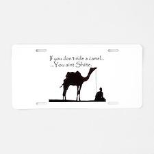 Shiite Camel - BLK - Aluminum License Plate