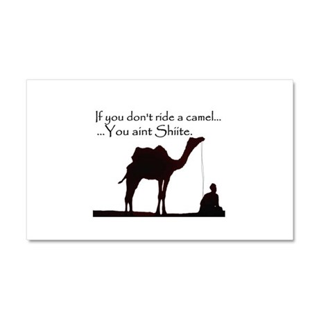 Shiite Camel - BLK - Car Magnet 20 x 12