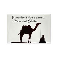 Shiite Camel - BLK - Rectangle Magnet