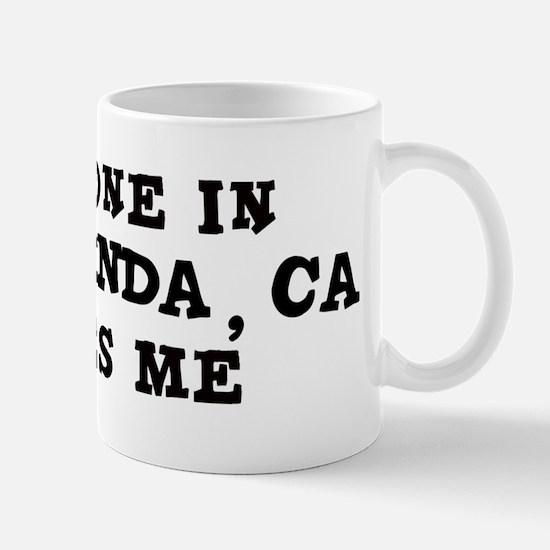 Someone in Yorba Linda Mug