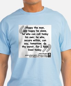 Dryden Happy Quote T-Shirt
