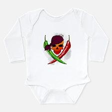 Pepper Pirate Long Sleeve Infant Bodysuit