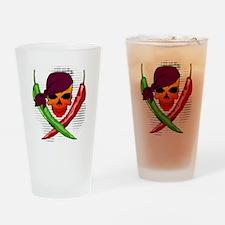 Pepper Pirate Drinking Glass