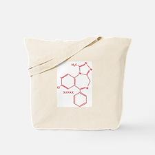 Xanax Molecule Tote Bag