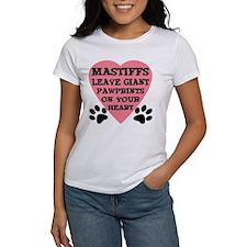Mastiff Pawprints Tee