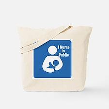 Nursing in Public Tote Bag