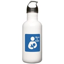 Nursing in Public Water Bottle