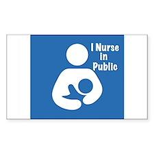 Nursing in Public Decal